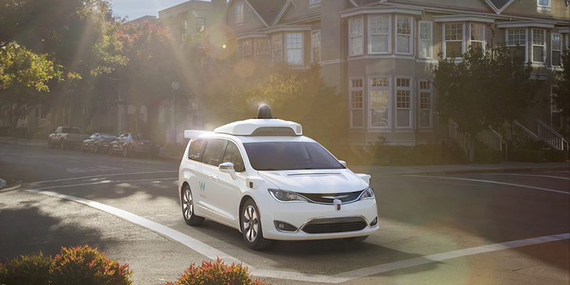 Fiat Chrysler e Waymo